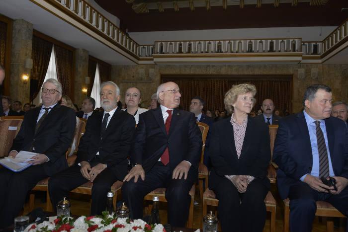 Soledad Becerril with ombudsman of turkey