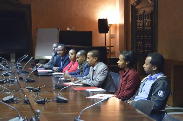 Delegación etíope en la AECID