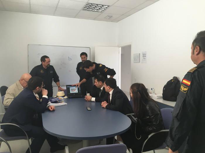 Visita de expertos de Azerbaiyán.