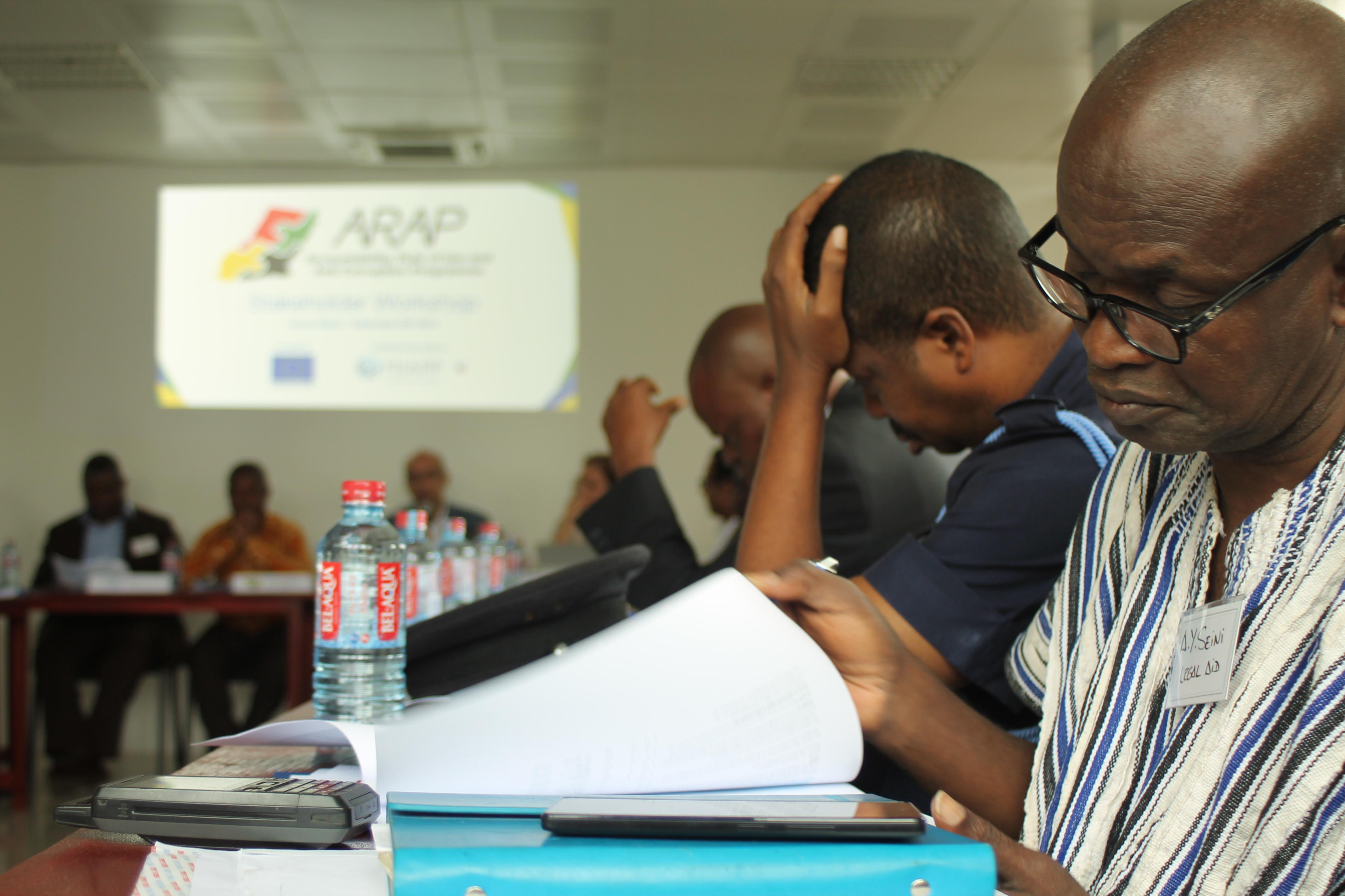 Taller en Accra, Ghana para establecer el programa de trabajo