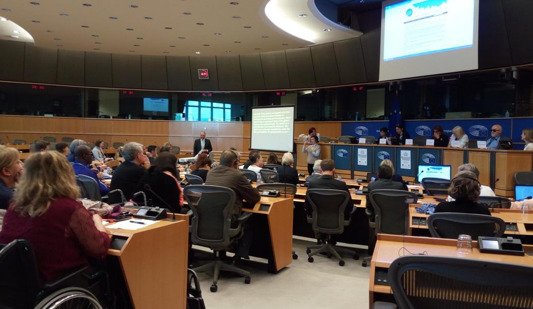 Evento sobre discapacidad en el parlamento europeo fiiapp for Sede del parlamento
