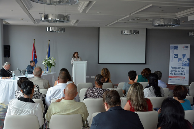 Participants in the programme assess the first phase at the closing seminar in Havana