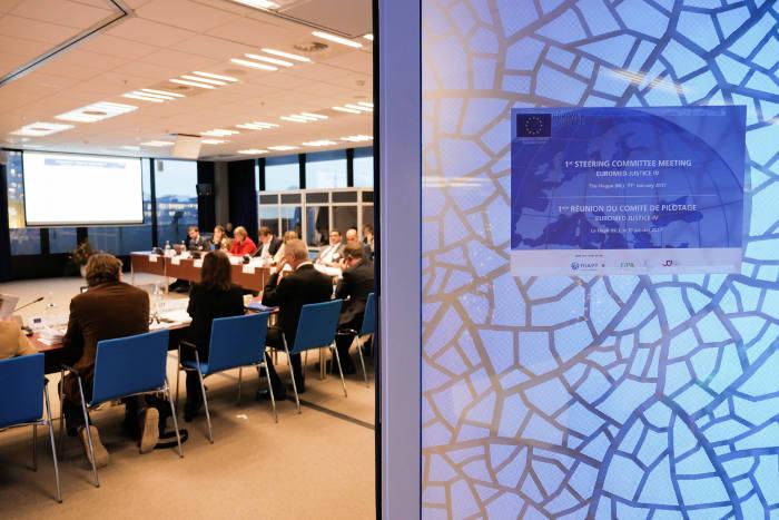 Encuentro de EuroMed Justicia IV en La Haya
