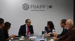 Reunión de trabajo en la FIIAPP