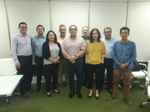 Fotografía de grupo de los participantes en los talleres