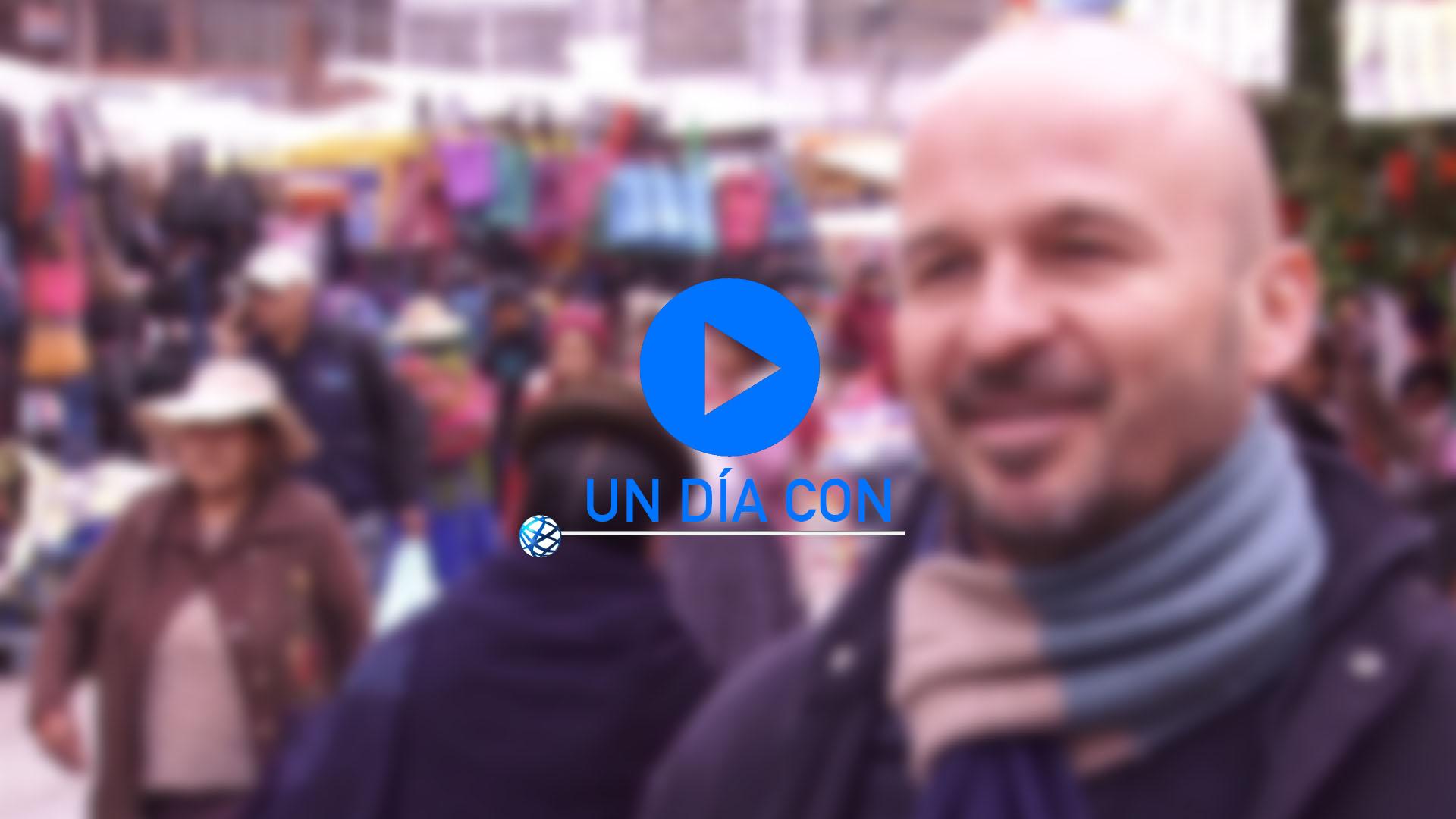 Un día con… Santiago Santos en Bolivia