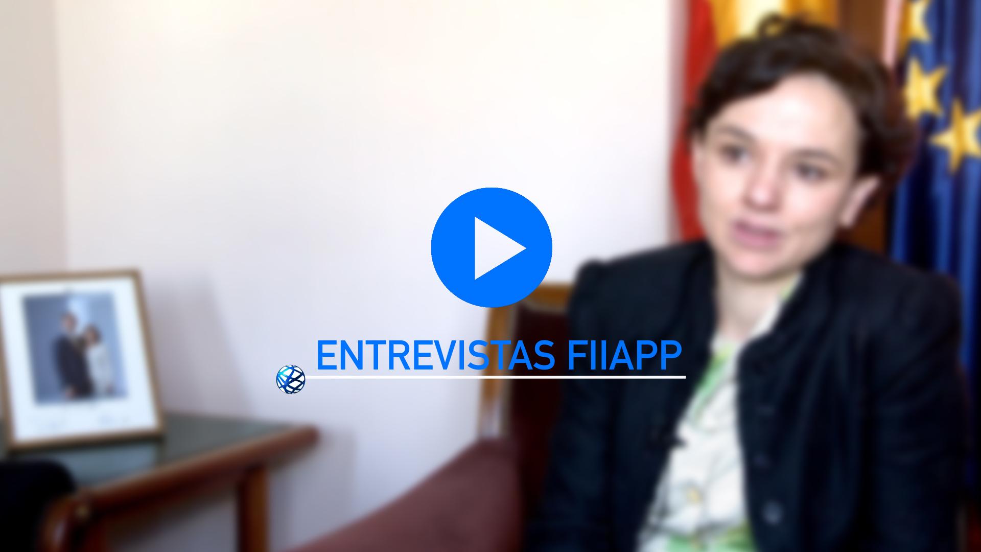 FIIAPP Interviews: María Pérez
