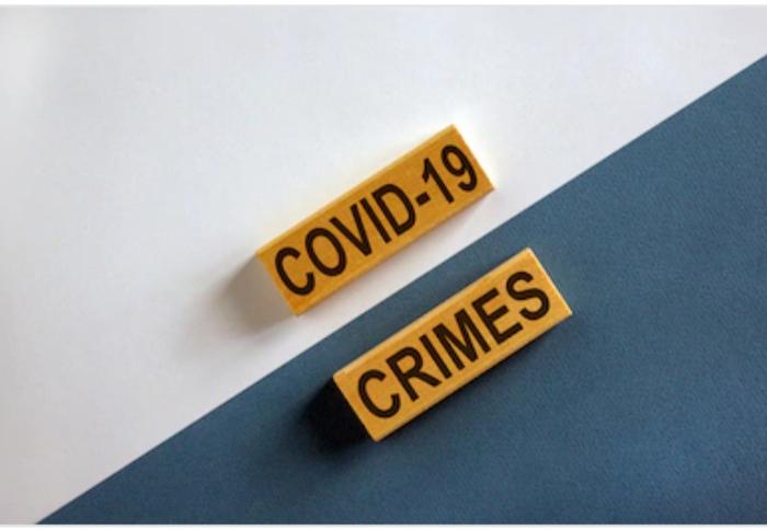 Los delitos más comunes durante la crisis sanitaria provocada por la COVID19