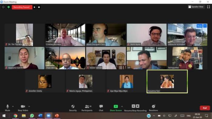 El Parlamento de Myanmar supervisa la respuesta del Gobierno ante la COVID19