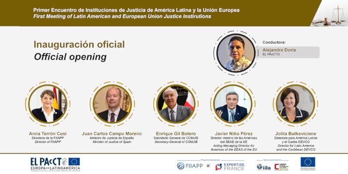 Instituciones de justicia se unen en la lucha contra el crimen transnacional