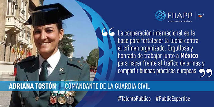 #PublicExpertise: 'I am proud to be working together with Mexico against arms trafficking'