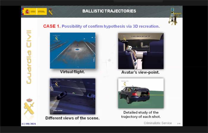 Infografía forense en 3D para esclarecer hechos delictivos