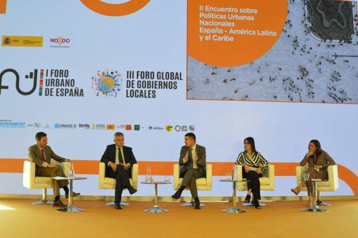 La FIIAPP participa en el I Foro Urbano de España